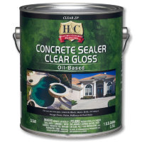 H&C Concrete Sealer Clear Gloss Oil-Based (23 Sealer) - Лак для камня