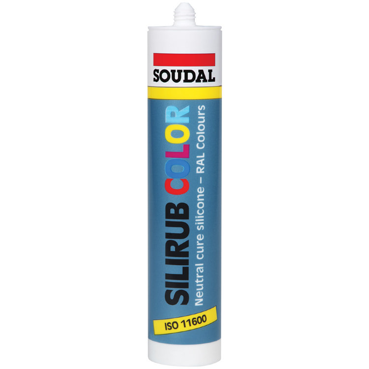 SOUDAL Silirub Color - Нейтральный силикон (310 мл.)