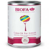 BIOFA 8511 Арктика. Белое укрывистое масло (Color-Oil For Indoors)