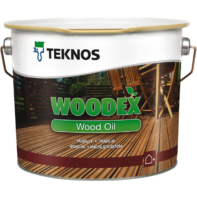 Teknos Woodex Wood Oil / Текнос Вудекс Вуд Оил - Масло для дерева