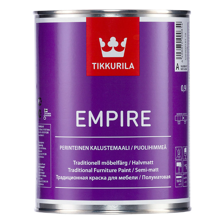 Tikkurila Empire / Тиккурила Эмпире краска для мебели